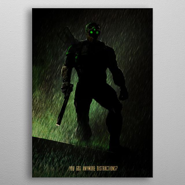 Splinter Cell metal poster