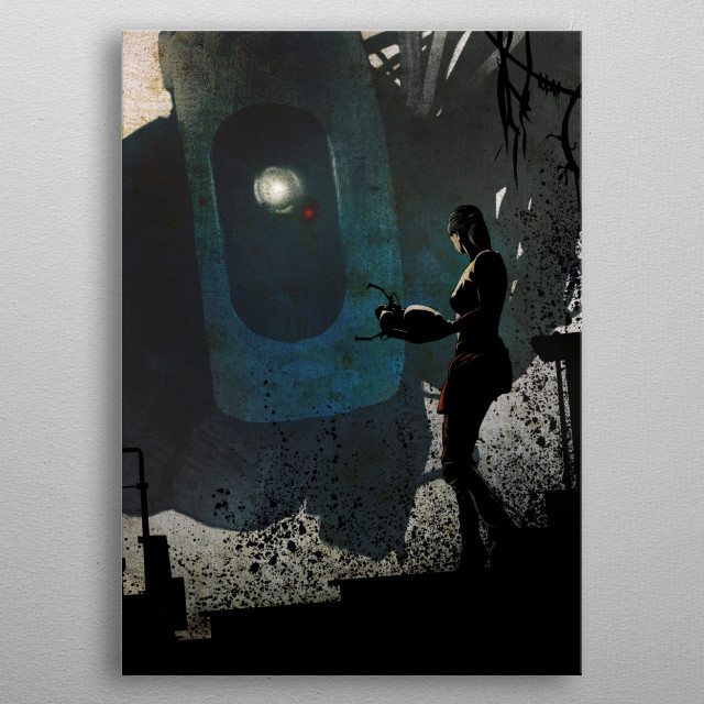 High-quality metal print from amazing Gaming Nemesis collection will bring unique style to your space and will show off your personality. metal poster