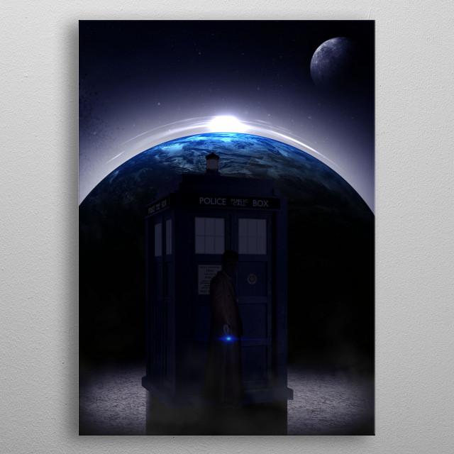 doctor metal poster