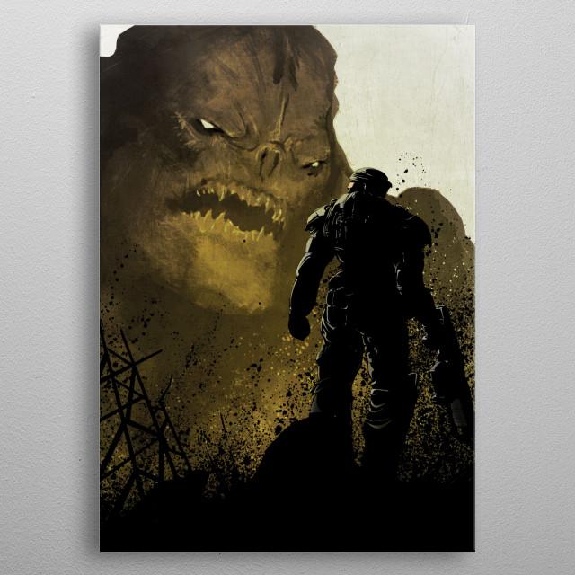 Markus metal poster