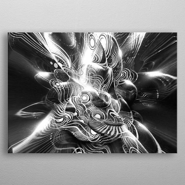 Painting / digital art by Dimitrov. metal poster
