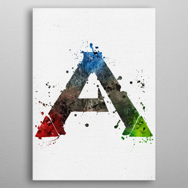 Ark Survival  metal poster