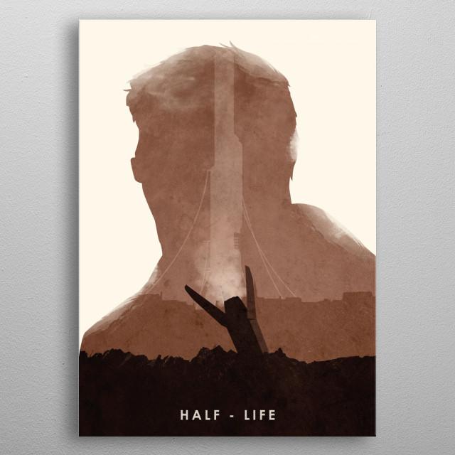 Poster design. metal poster