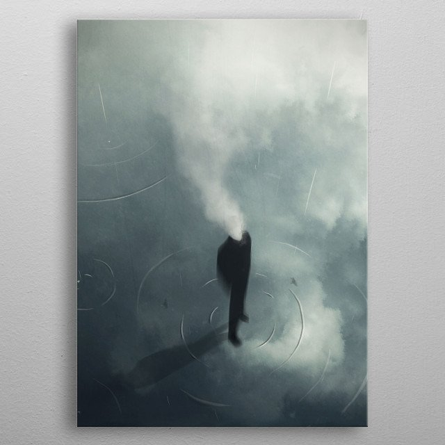 The Man Who Forgot to Dream metal poster