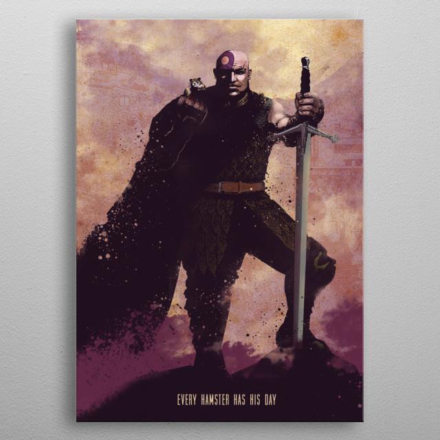 Minsc metal poster