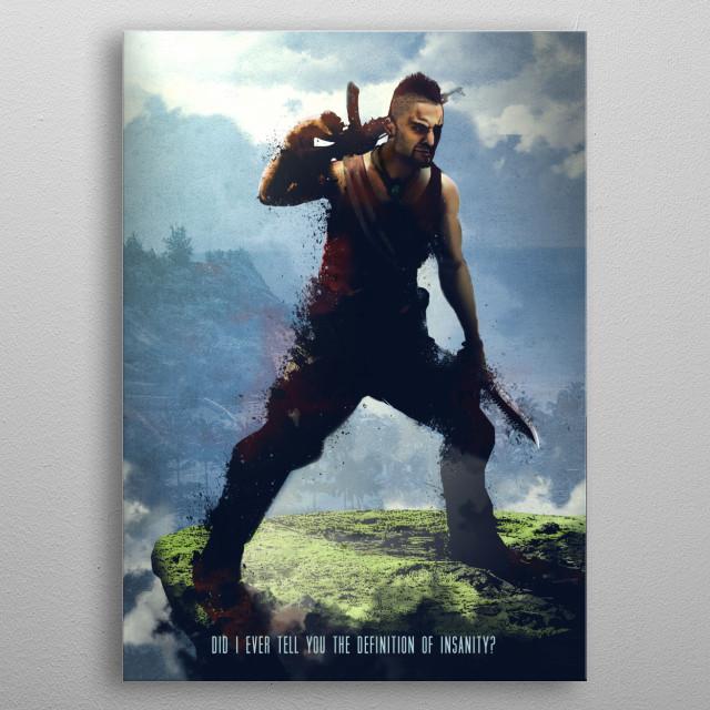Vaas metal poster