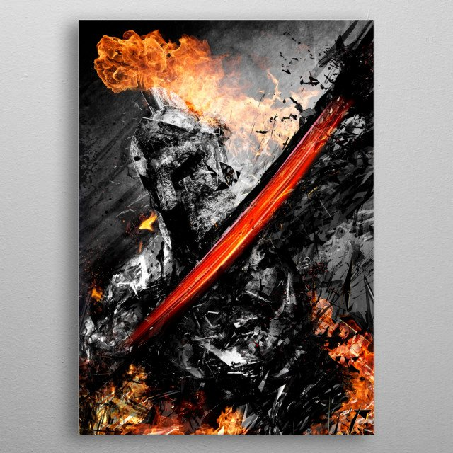 High-quality metal print from amazing Aesthetics Of Chaos collection will bring unique style to your space and will show off your personality. metal poster