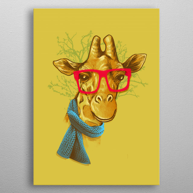 High-quality metal print from amazing Cute And Lovable Animals collection will bring unique style to your space and will show off your personality. metal poster