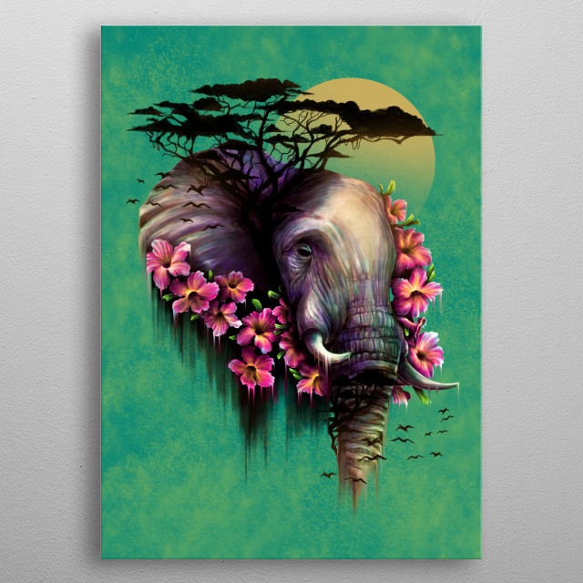 The Wild Bloom metal poster