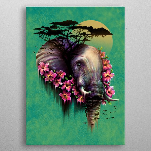 High-quality metal wall art meticulously designed by loupatrickmackay would bring extraordinary style to your room. Hang it & enjoy. metal poster