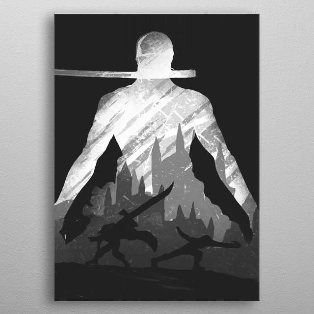 Pirate Hunter metal poster