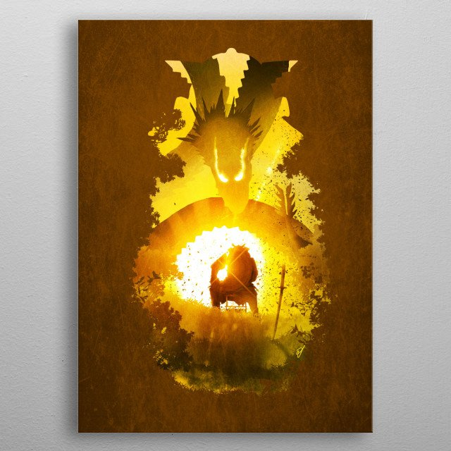 High-quality metal print from amazing Little Stories collection will bring unique style to your space and will show off your personality. metal poster