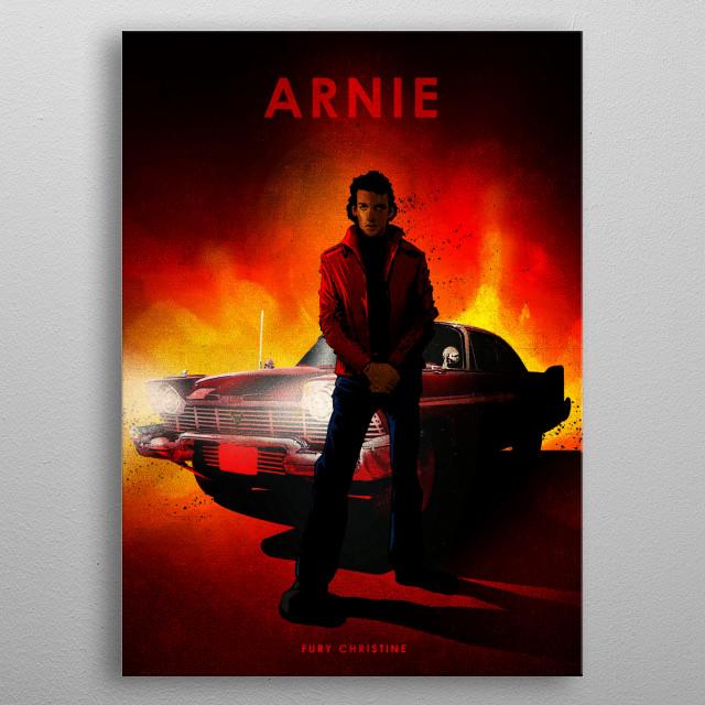 Arnie metal poster