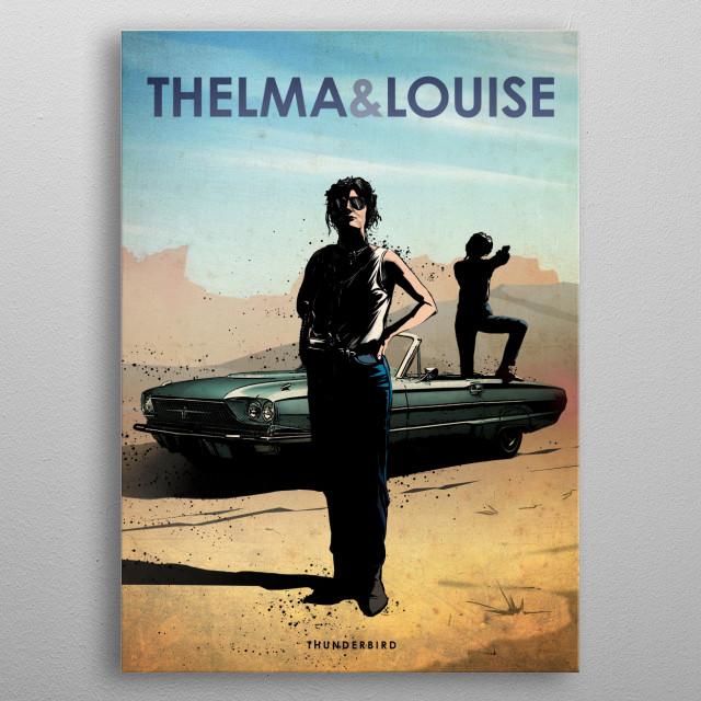 Thelma & Louise metal poster