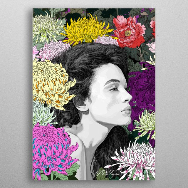 Fascinating  metal poster designed with love by pedrotapa. Decorate your space with this design & find daily inspiration in it. metal poster