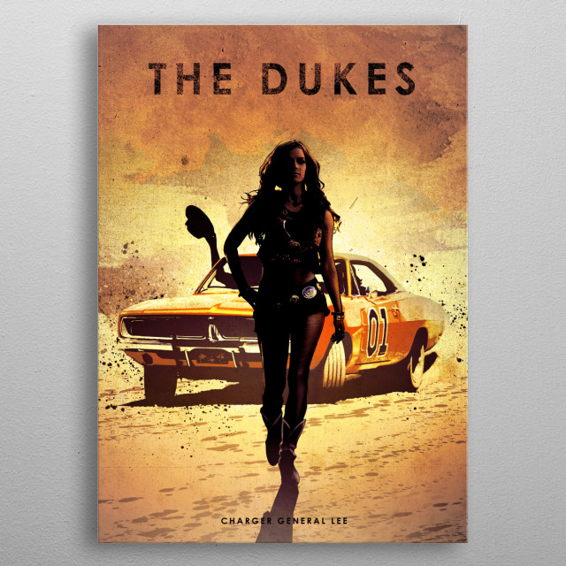 The Dukes metal poster