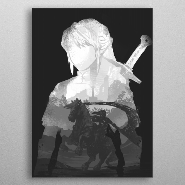 High-quality metal print from amazing Monochrome collection will bring unique style to your space and will show off your personality. metal poster