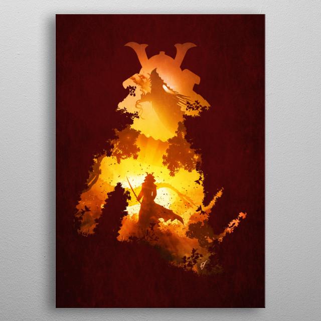 Final Duel metal poster