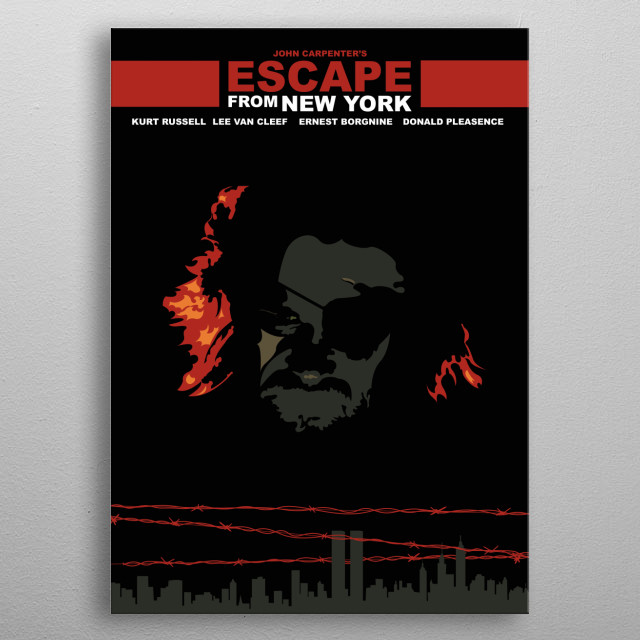 High-quality metal print from amazing Solmn Movie Posters collection will bring unique style to your space and will show off your personality. metal poster