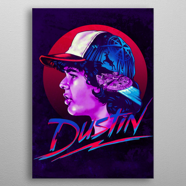 Fascinating metal poster designed by zerobriant . Displate has a unique signature and hologram on the back to add authenticity to each design. metal poster
