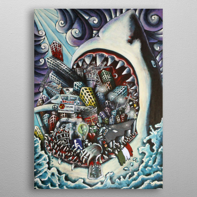 This marvelous metal poster designed by pierluigi to add authenticity to your place. Display your passion to the whole world. metal poster