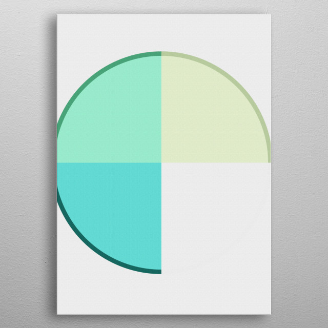 High-quality metal print from amazing Abstract 2017 Gallery 1 collection will bring unique style to your space and will show off your personality. metal poster