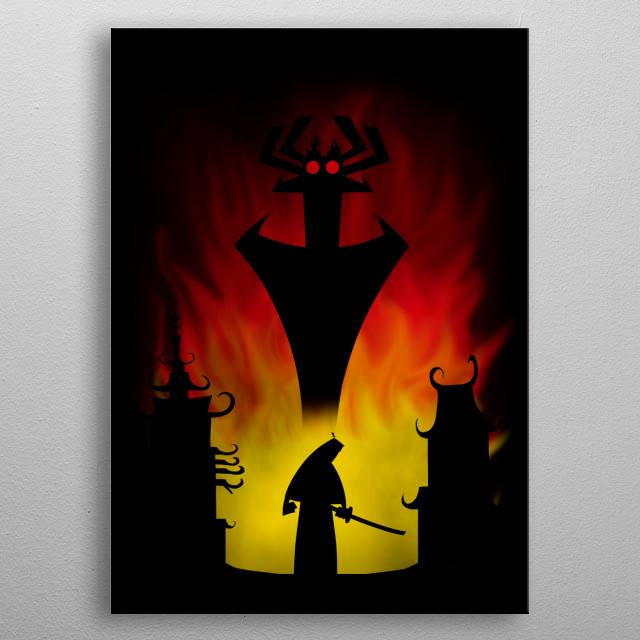 Fighting the Darkness metal poster