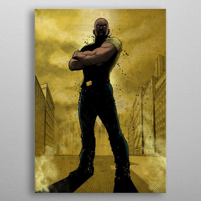 This marvelous metal poster designed by Marvel to add authenticity to your place. Display your passion to the whole world. metal poster