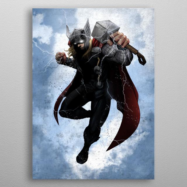 Thor metal poster