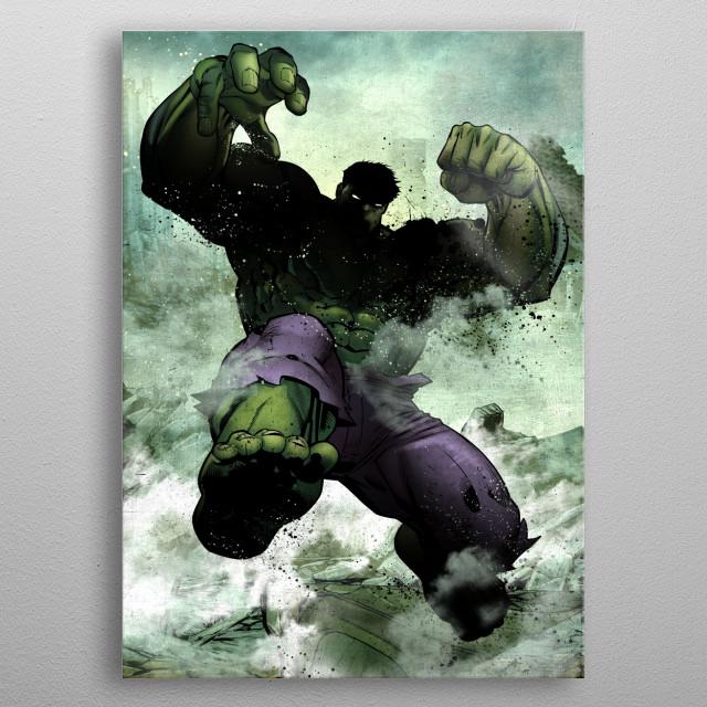 Hulk metal poster