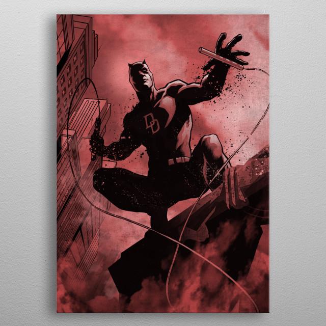 Daredevil metal poster