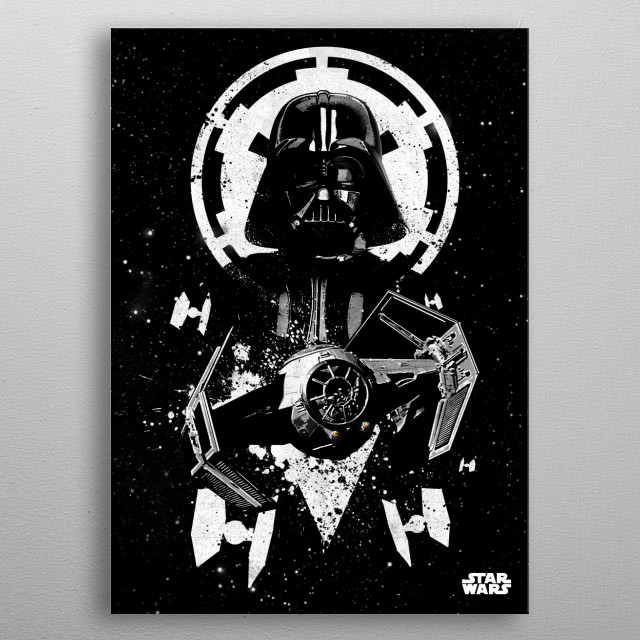 Tie Advanced metal poster