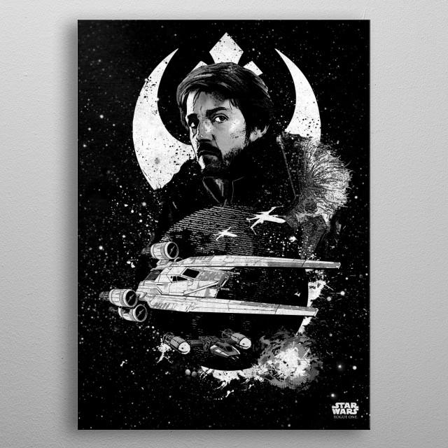 U-Wing metal poster