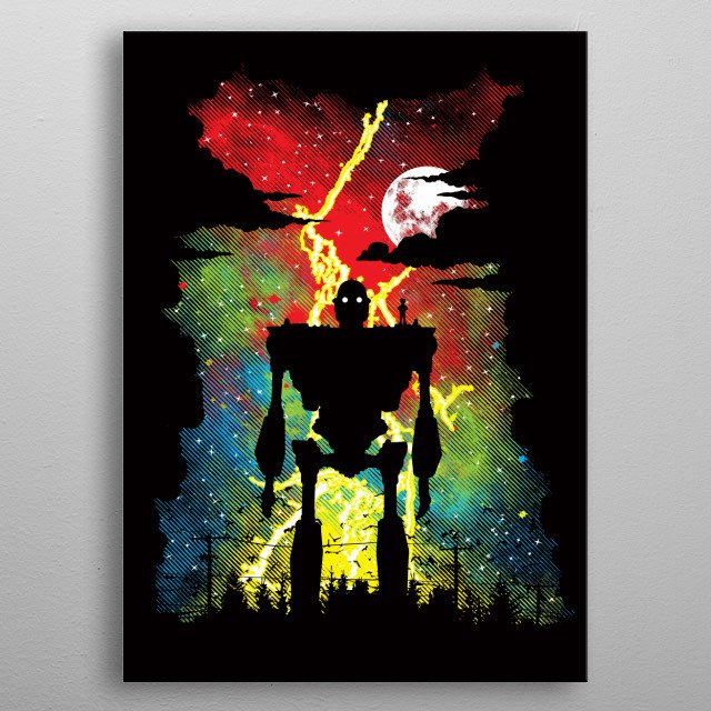 Inspired by the movie The Iron Giant. I hope you like it! :) metal poster