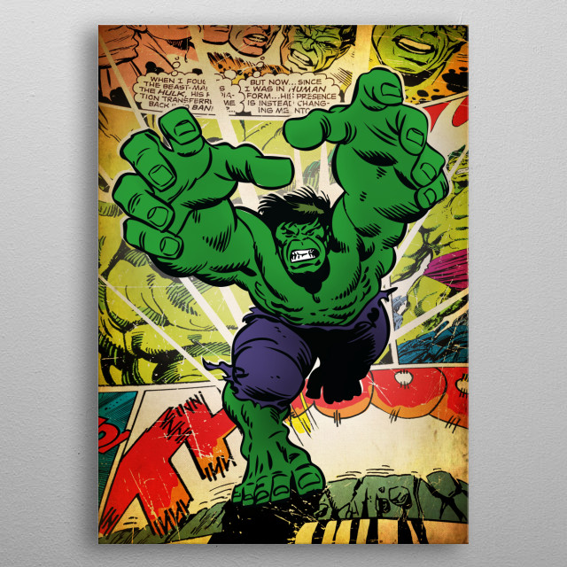 Fascinating  metal poster designed with love by Marvel. Decorate your space with this design & find daily inspiration in it. metal poster