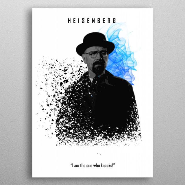 002 Heisenberg edition metal poster