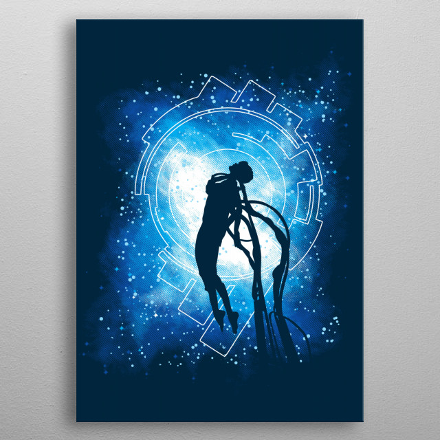 """Inspired by the movie """"Ghost In The Shell."""" I hope you like it! :) metal poster"""