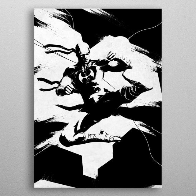 Danny Rand metal poster
