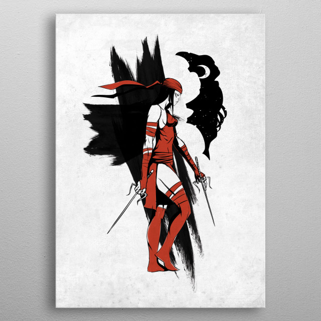 Fascinating metal poster designed by Marvel. Displate has a unique signature and hologram on the back to add authenticity to each design. metal poster