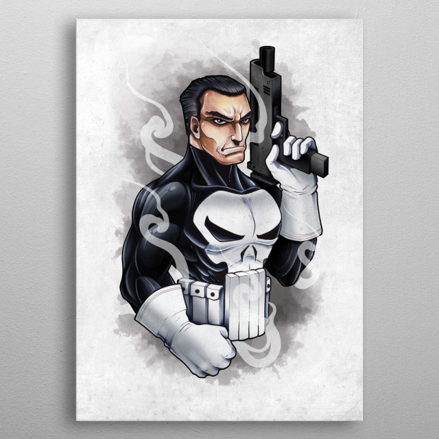 The Soldier metal poster