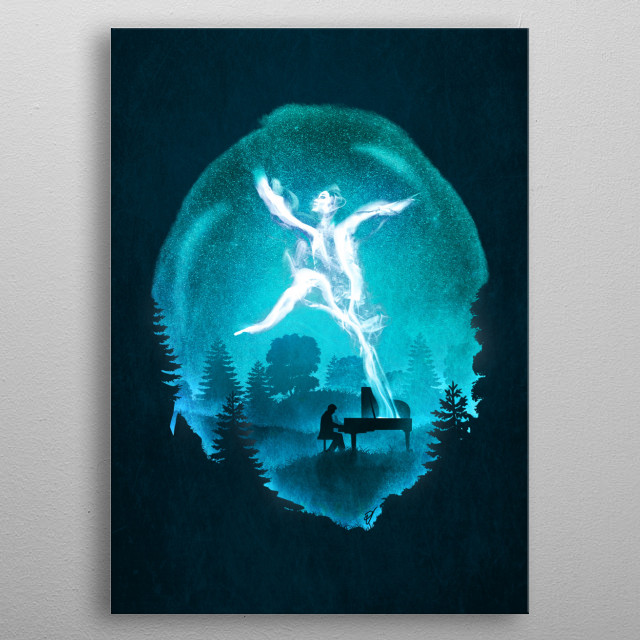 Summoning the Muse metal poster