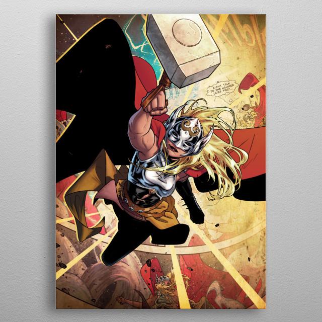 Thor Jane Foster metal poster