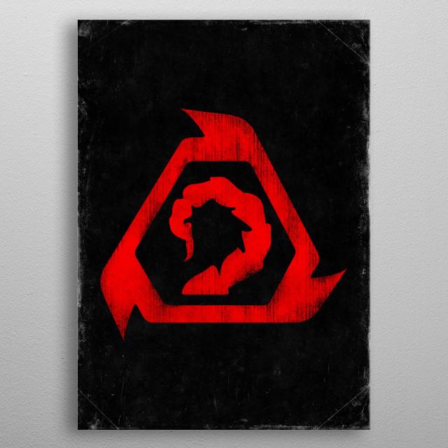 Brotherhood of Nod metal poster