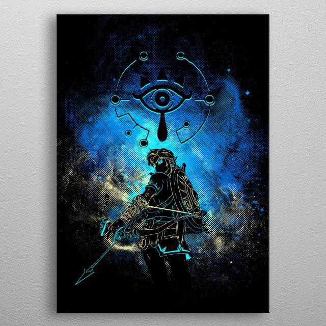 Breath Art metal poster