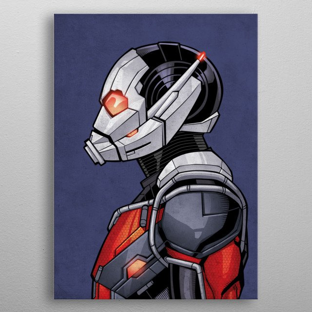 Ant-Man metal poster