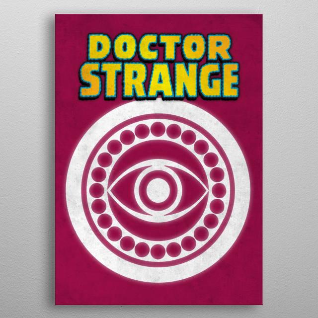 Doctor Strange metal poster