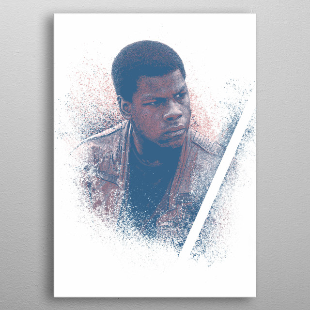 High-quality metal print from amazing Star Wars collection will bring unique style to your space and will show off your personality. metal poster