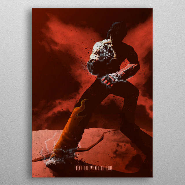 Jin metal poster