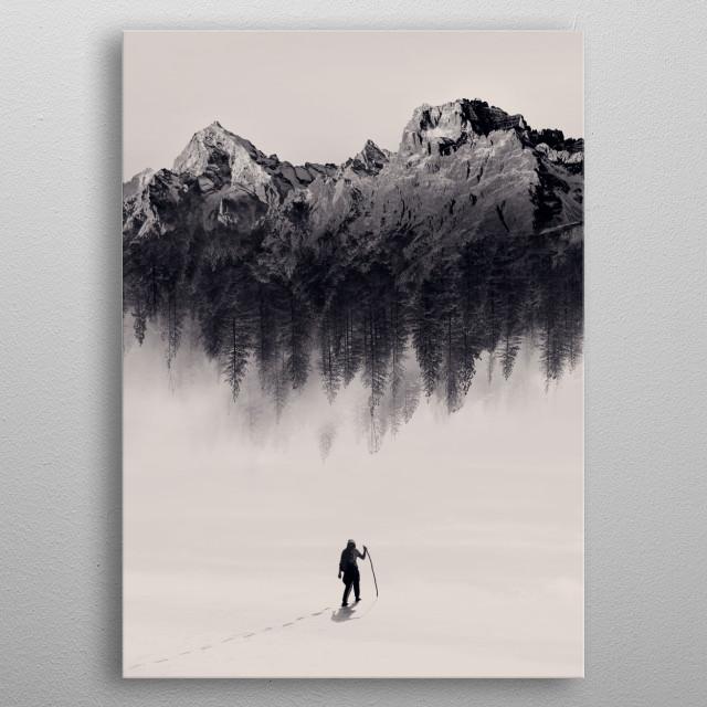 New Adventure metal poster