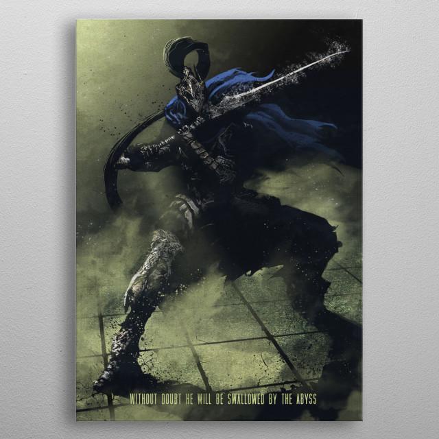 Artorias metal poster